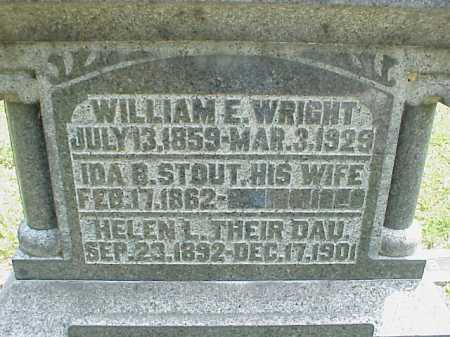 WRIGHT, IDA B. - Meigs County, Ohio | IDA B. WRIGHT - Ohio Gravestone Photos