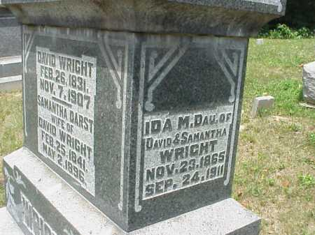 WRIGHT, IDA M. - Meigs County, Ohio | IDA M. WRIGHT - Ohio Gravestone Photos