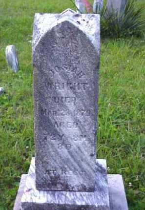 WRIGHT, JOSIAH - Meigs County, Ohio   JOSIAH WRIGHT - Ohio Gravestone Photos