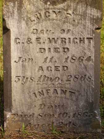 WRIGHT, INFANT DAU. - Meigs County, Ohio | INFANT DAU. WRIGHT - Ohio Gravestone Photos