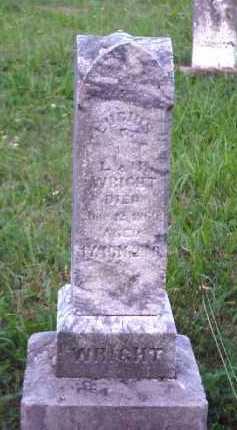 WRIGHT, LUCIUS G. - Meigs County, Ohio | LUCIUS G. WRIGHT - Ohio Gravestone Photos