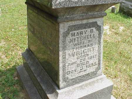 WRIGHT, MARY B. - Meigs County, Ohio   MARY B. WRIGHT - Ohio Gravestone Photos
