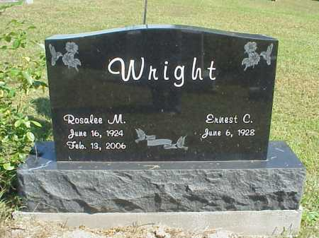 WRIGHT, ERNEST C. - Meigs County, Ohio | ERNEST C. WRIGHT - Ohio Gravestone Photos
