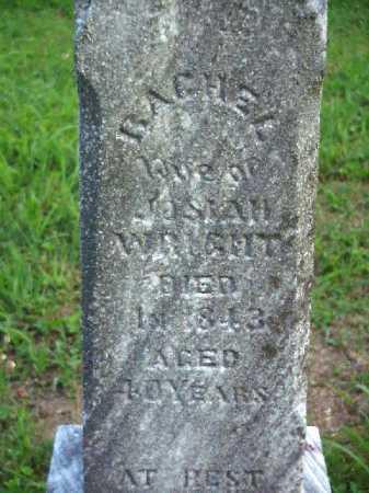 WRIGHT, RACHEL - Meigs County, Ohio | RACHEL WRIGHT - Ohio Gravestone Photos