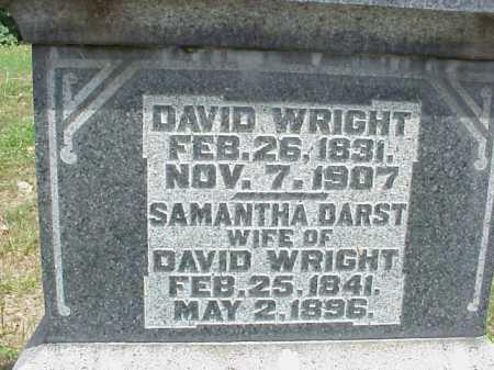 WRIGHT, SAMANTHA - Meigs County, Ohio | SAMANTHA WRIGHT - Ohio Gravestone Photos