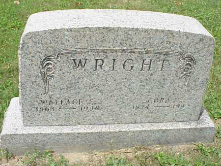WRIGHT, WALLACE E. - Meigs County, Ohio | WALLACE E. WRIGHT - Ohio Gravestone Photos