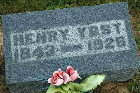 YOST, HENRY - Meigs County, Ohio   HENRY YOST - Ohio Gravestone Photos