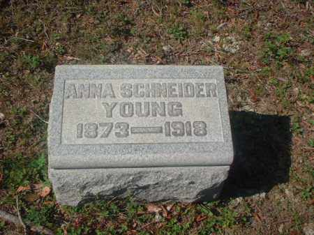 YOUNG, ANNA - Meigs County, Ohio | ANNA YOUNG - Ohio Gravestone Photos
