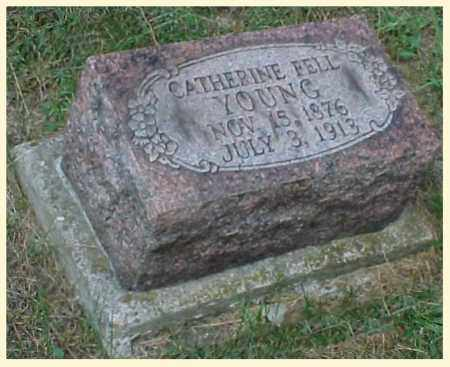 FELL YOUNG, CATHERINE - Meigs County, Ohio | CATHERINE FELL YOUNG - Ohio Gravestone Photos