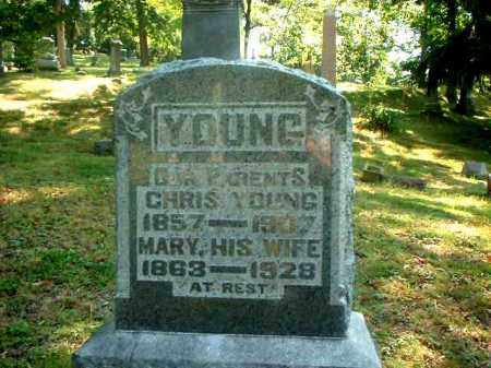 YOUNG, MARY - Meigs County, Ohio | MARY YOUNG - Ohio Gravestone Photos