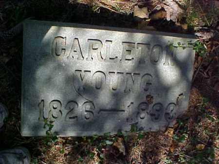 YOUNG, CARLETON - Meigs County, Ohio   CARLETON YOUNG - Ohio Gravestone Photos