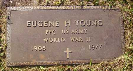 YOUNG, EUGENE H. - MILITARY - Meigs County, Ohio | EUGENE H. - MILITARY YOUNG - Ohio Gravestone Photos