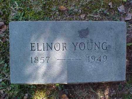 YOUNG, ELINOR - Meigs County, Ohio | ELINOR YOUNG - Ohio Gravestone Photos