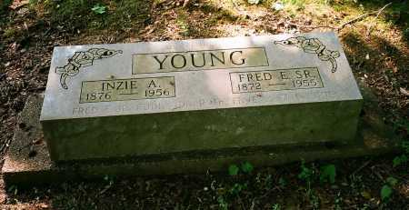 YOUNG, INZIE A. - Meigs County, Ohio | INZIE A. YOUNG - Ohio Gravestone Photos