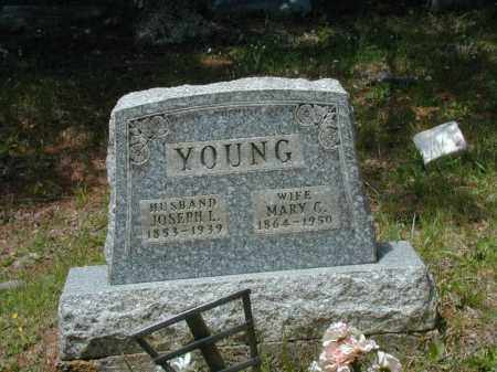 YOUNG, MARY C. - Meigs County, Ohio | MARY C. YOUNG - Ohio Gravestone Photos