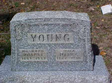 YOUNG, MARY C. - Meigs County, Ohio   MARY C. YOUNG - Ohio Gravestone Photos