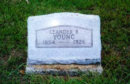 YOUNG, LEANDER B. - Meigs County, Ohio | LEANDER B. YOUNG - Ohio Gravestone Photos