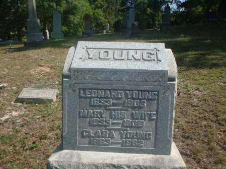 YOUNG, LEONARD - Meigs County, Ohio | LEONARD YOUNG - Ohio Gravestone Photos