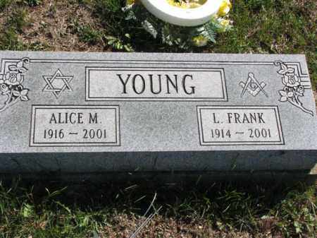 YOUNG, L. FRANK - Meigs County, Ohio | L. FRANK YOUNG - Ohio Gravestone Photos
