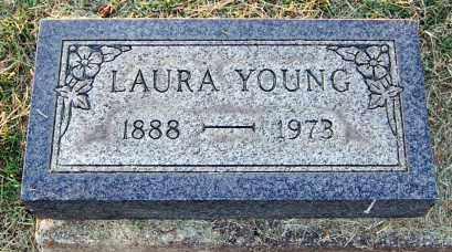YOUNG, LAURA - Meigs County, Ohio | LAURA YOUNG - Ohio Gravestone Photos