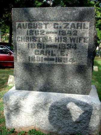 ZAHL, CHRISTINA - Meigs County, Ohio | CHRISTINA ZAHL - Ohio Gravestone Photos
