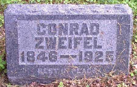 ZWEIFEL, CONRAD - Meigs County, Ohio   CONRAD ZWEIFEL - Ohio Gravestone Photos