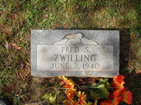 ZWILLING, FRED S. - Meigs County, Ohio | FRED S. ZWILLING - Ohio Gravestone Photos
