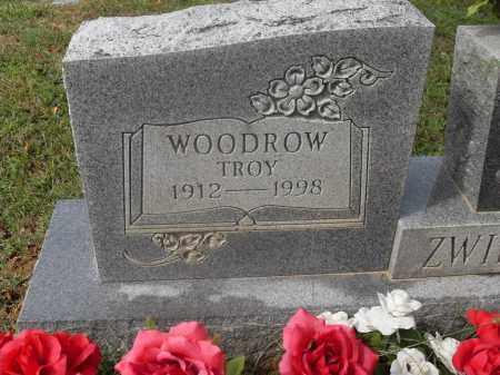 ZWILLING, WOODROW TROY - Meigs County, Ohio | WOODROW TROY ZWILLING - Ohio Gravestone Photos