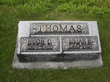 HUSSEY THOMAS, LILIAN - Mercer County, Ohio | LILIAN HUSSEY THOMAS - Ohio Gravestone Photos