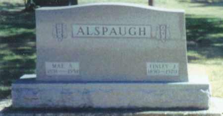 HILEMAN ALSPAUGH, MAE AMELIA - Mercer County, Ohio | MAE AMELIA HILEMAN ALSPAUGH - Ohio Gravestone Photos