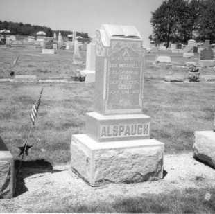 ALSPAUGH, IRA M. - Mercer County, Ohio | IRA M. ALSPAUGH - Ohio Gravestone Photos