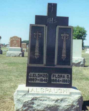 ALSPAUGH, FLORA C. - Mercer County, Ohio | FLORA C. ALSPAUGH - Ohio Gravestone Photos