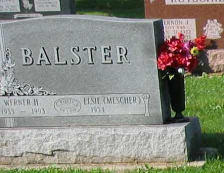 BALSTER, ELSIE - Mercer County, Ohio | ELSIE BALSTER - Ohio Gravestone Photos