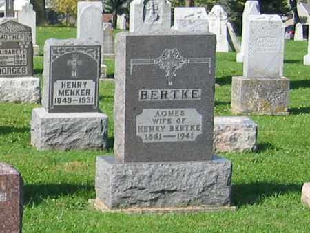 BERTKE, HENRY - Mercer County, Ohio | HENRY BERTKE - Ohio Gravestone Photos