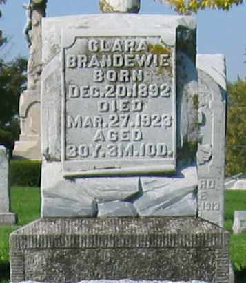 BRANDEWIE, CLARA - Mercer County, Ohio   CLARA BRANDEWIE - Ohio Gravestone Photos