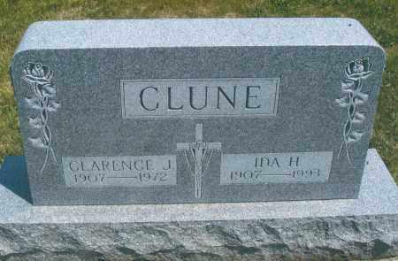 CLUNE, CLARENCE JOSEPH - Mercer County, Ohio | CLARENCE JOSEPH CLUNE - Ohio Gravestone Photos