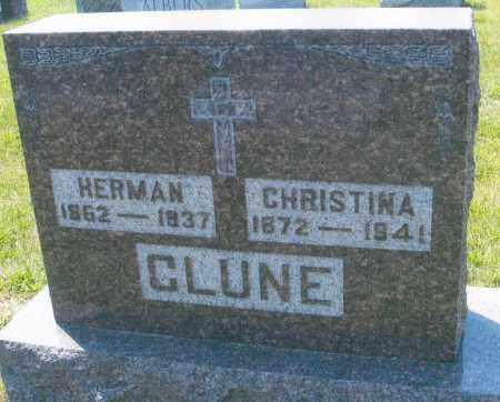 CLUNE, HERMAN - Mercer County, Ohio | HERMAN CLUNE - Ohio Gravestone Photos