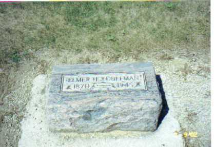 COFFMAN, ELMER E. - Mercer County, Ohio | ELMER E. COFFMAN - Ohio Gravestone Photos