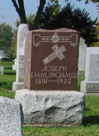 DAHLINGHAUS, JOSEPH - Mercer County, Ohio   JOSEPH DAHLINGHAUS - Ohio Gravestone Photos