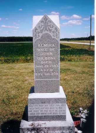 DILBONE, ALMIRA - Mercer County, Ohio | ALMIRA DILBONE - Ohio Gravestone Photos