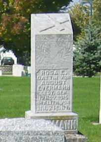 EVERMANN, AUGUST - Mercer County, Ohio   AUGUST EVERMANN - Ohio Gravestone Photos