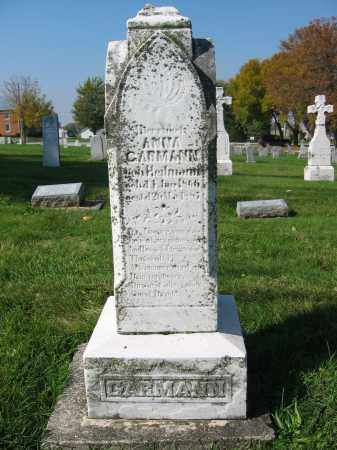 HEITMANN GARMANN, ANNA - Mercer County, Ohio | ANNA HEITMANN GARMANN - Ohio Gravestone Photos