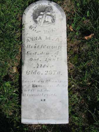 HEITKAMP, ANNA M.A. - Mercer County, Ohio | ANNA M.A. HEITKAMP - Ohio Gravestone Photos