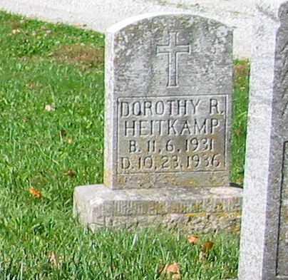 HEITKAMP, DOROTHY R - Mercer County, Ohio | DOROTHY R HEITKAMP - Ohio Gravestone Photos