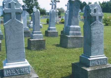 HEYNE, JOHANNES 1897 - Mercer County, Ohio | JOHANNES 1897 HEYNE - Ohio Gravestone Photos