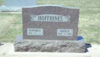 HOFFHINES, CLIFFORD ELIAS - Mercer County, Ohio   CLIFFORD ELIAS HOFFHINES - Ohio Gravestone Photos