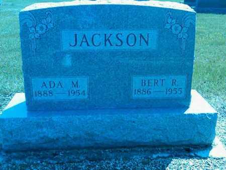 SNYDER JACKSON, ADA - Mercer County, Ohio | ADA SNYDER JACKSON - Ohio Gravestone Photos
