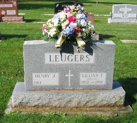 FELTZ LEUGERS, LILLIAN F. - Mercer County, Ohio | LILLIAN F. FELTZ LEUGERS - Ohio Gravestone Photos