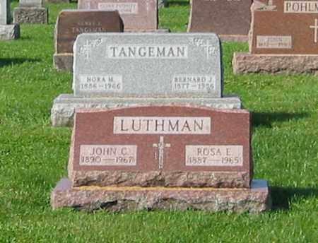 LUTHMAN, JOHN C - Mercer County, Ohio | JOHN C LUTHMAN - Ohio Gravestone Photos