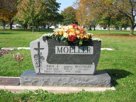 MOELLER, PAUL J. - Mercer County, Ohio | PAUL J. MOELLER - Ohio Gravestone Photos
